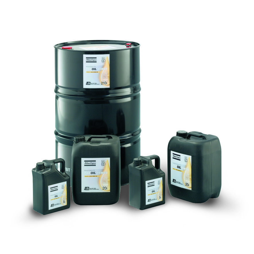 Engine oil 15W40 and 5W40